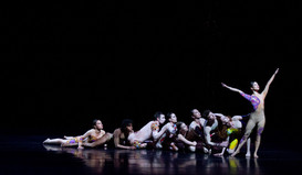 Dancers from Paul Taylor Dance Company complete a week-long residency at Chautauqua Institution with a three-piece bill in collaboration with Chautauqua Symphony Orchestra Saturday, August 10, 2019