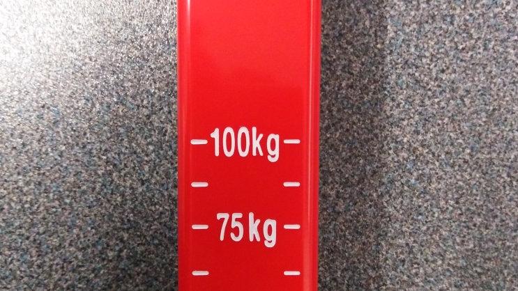 Nose Weight Gauge for Caravan or Trailer