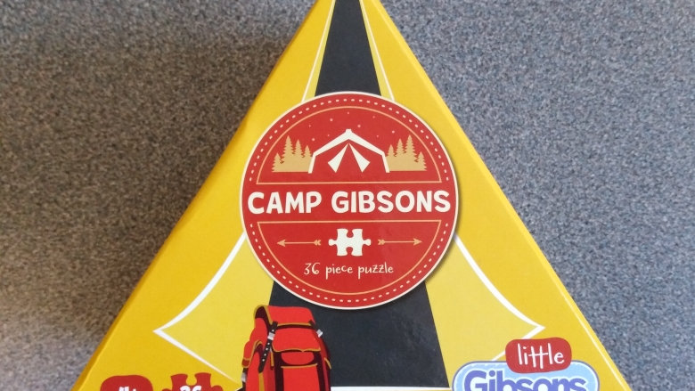 36 Piece Camping Scene Jigsaw For Kids