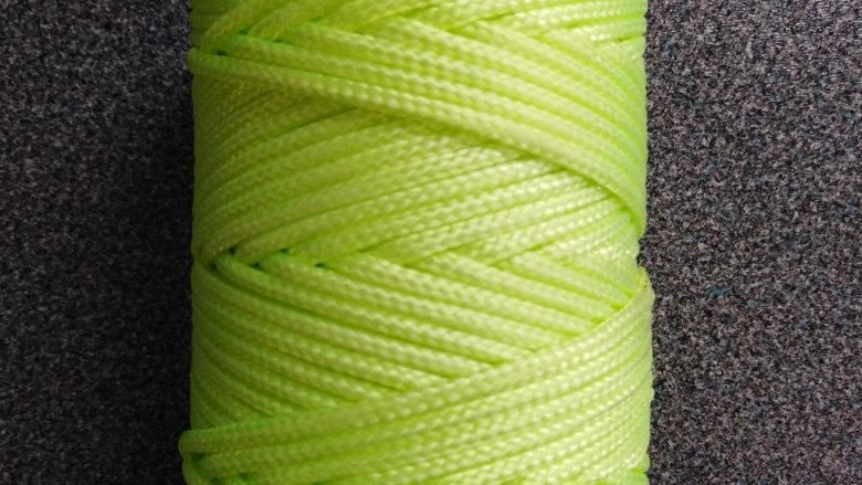 Hi- Viz Fluorescent Guy Line Rope for Awnings, Tents, Gazebo, etc.