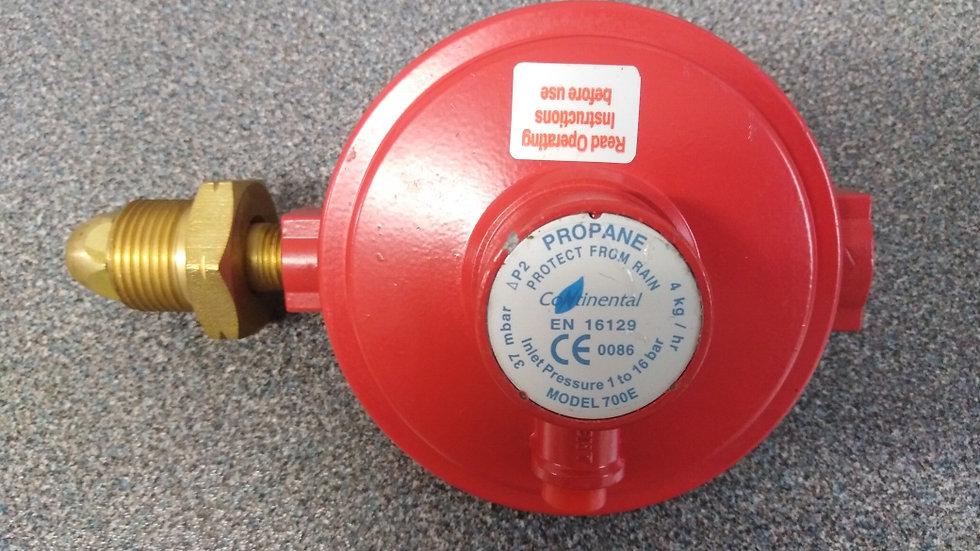Propane Gas Regulator 37mbar 4kg/hr Capacity