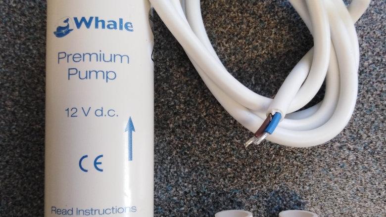 Whale In-Line Premium Flow 12v Water Pump GP1392