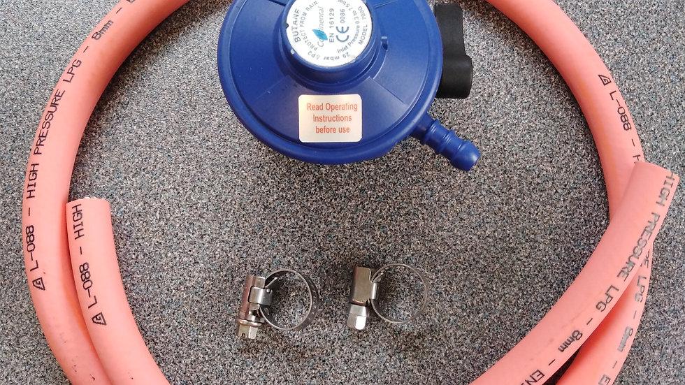 20mm Butane Regulator and Hose Kit