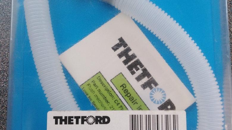 Thetford C4 Cassette Toilet Flush Water Tube