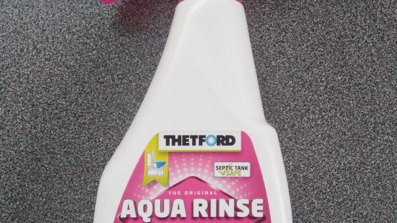 Thetford Aqua Rinse 500ml Spray Pink Toilet Chemical