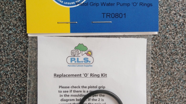 Truma Ultraflow Pump Plug O Rings