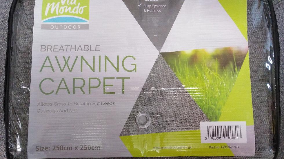 Breathable Caravan Awning Carpet