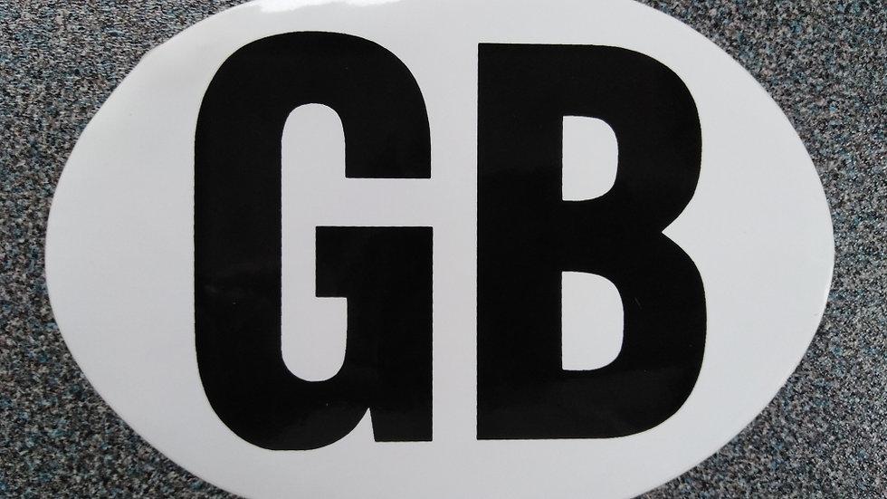 GB Sticker for Car, Van, Campervan, Motorhome or Caravan