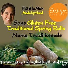 Gluten Free Traditional Spring Rolls