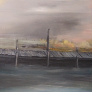 """Old Wooden Pier"""