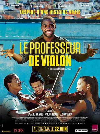 Affiche du film le professeur de violon.