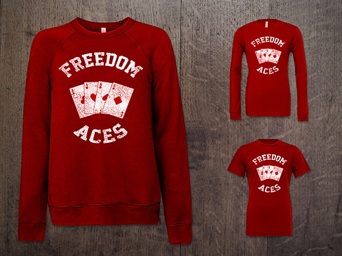 Freedom Aces Throwback Threads
