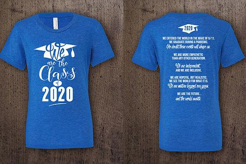 Owen Valley Class of 2020 Graduate Shirt Only