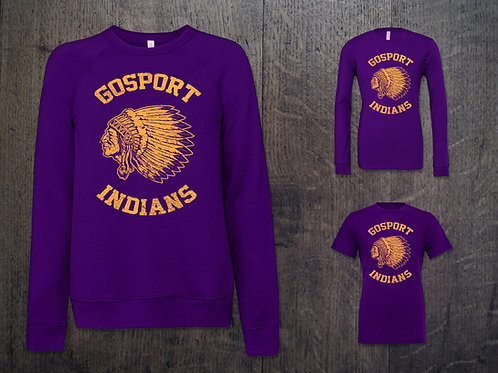 Gosport Indians Throwback Threads