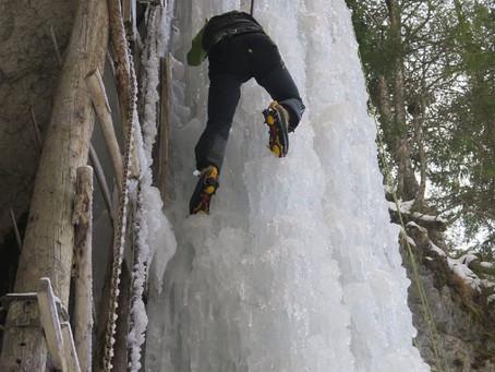 Eisklettern - Tiefenbachgraben