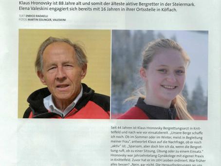 Die jüngste Bergretterin der Steiermark