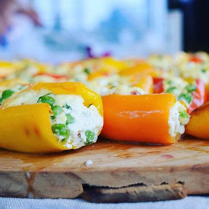 Stuffed Baby Peppers - Half Pan