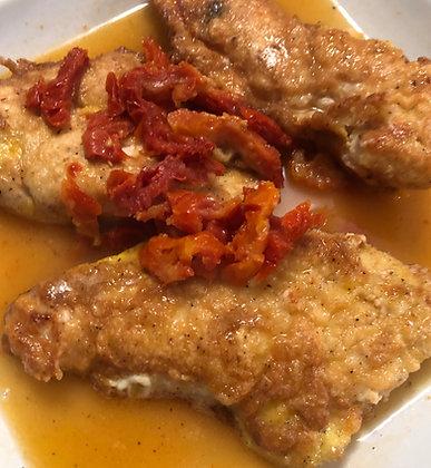 Chicken Francese - Half Pan