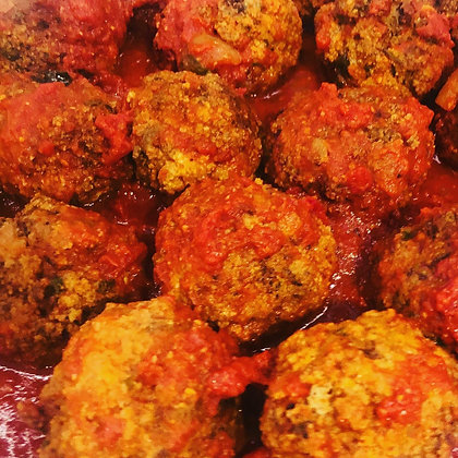 Meatballs with Homemade Sauce