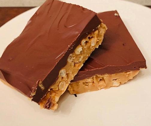 Peanut Butter Pretzel Bars, Gluten-free