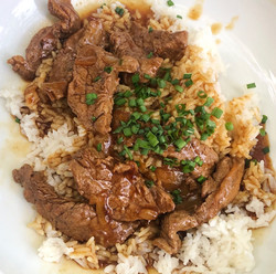 beef and rice