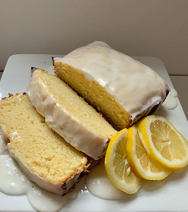 Iced Lemon Pound Cake by Sweet Clover