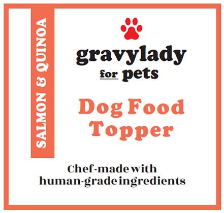 Salmon & Quinoa - Pet Food Topper - 3 units (12 oz ea.)