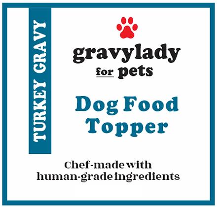 Turkey Gravy - Pet Food Topper - 3 units (12 oz ea.)