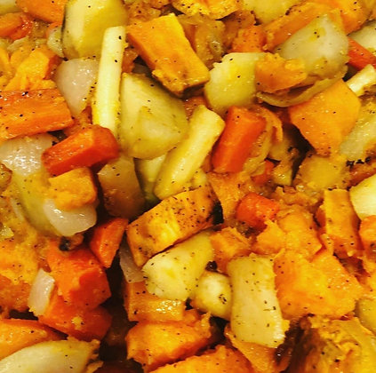Roasted Root Vegetables - Half Pan