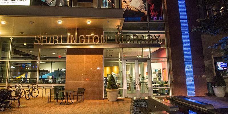 Living in Shirlington Arlington Virginia