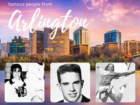 5 Famous People Who Are From Arlington, Virginia