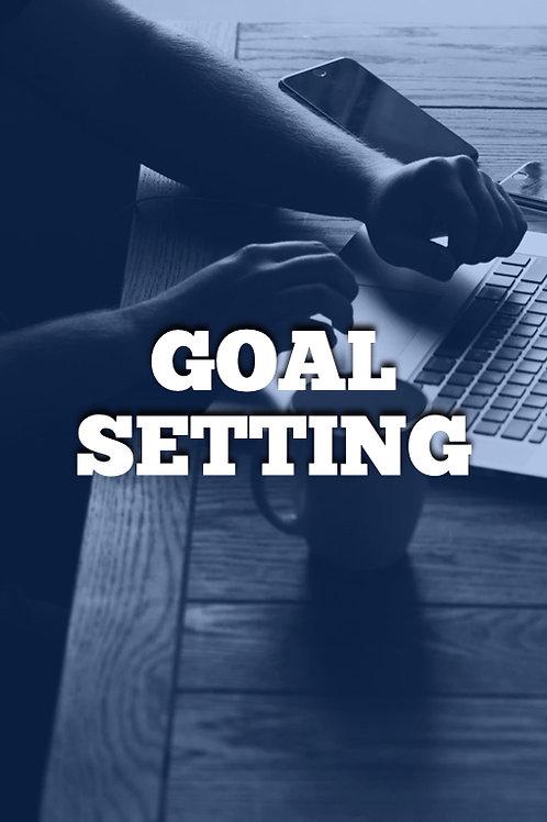 Week 1 - Goal Setting