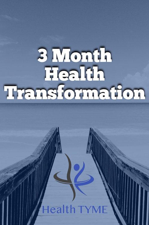3 Month Health Transformation