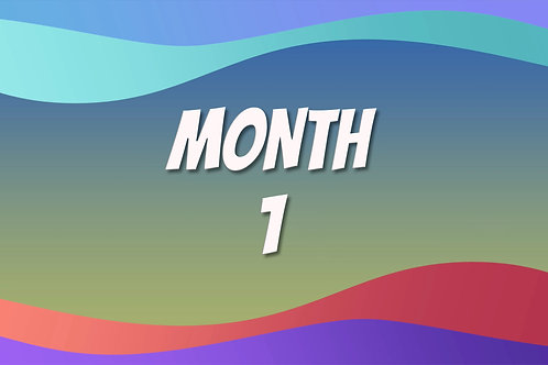Video Course - Month 1