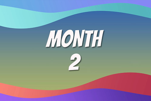 Video Course - Month 2