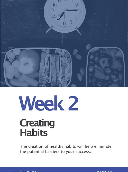 Week 2 - Video Course - Creating Habits