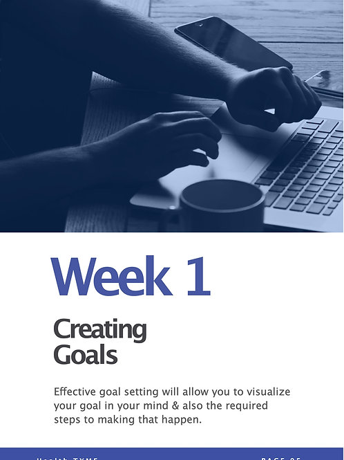 Week 1 - Video Course - Creating Goals