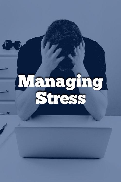 Week 9 - Managing Stress