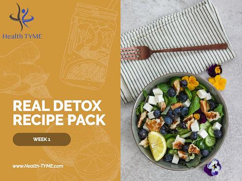 Detox Recipe Pack - 4 week Pack