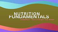 Lesson 21 - Nutrition Fundamentals - Don