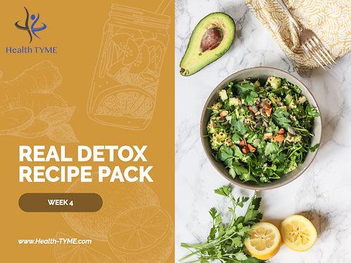 Detox Recipe Pack - Week 4