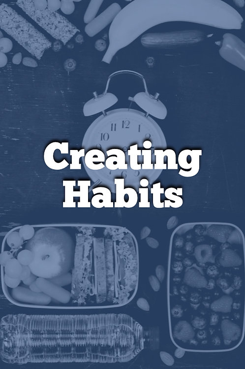 Week 2 - Creating Good Habits