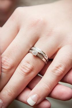 Rings on finger