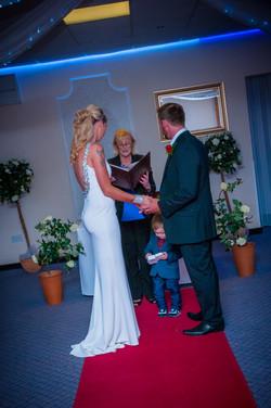 frankie & todd exchange vows