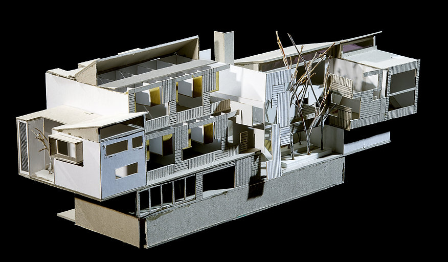 Social Housing- Cardboard model