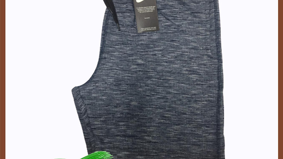 Bermuda Moleton Griffe Nike Azul Manchada