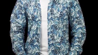 Camisa Griffe TOMMY HILFIGER azul floral