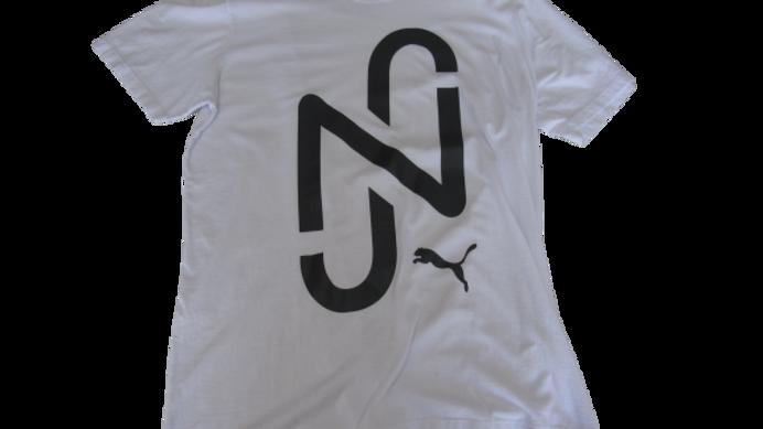Camiseta Malha Peruaba Puma Branca