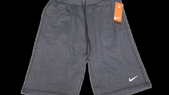 Bermuda de Moletom Nike Cinza