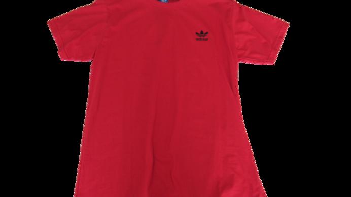 Camiseta Malha Peruana Adidas Vermelha